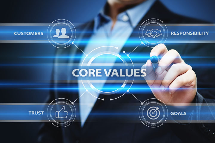 Concept image of Mission & Core Values