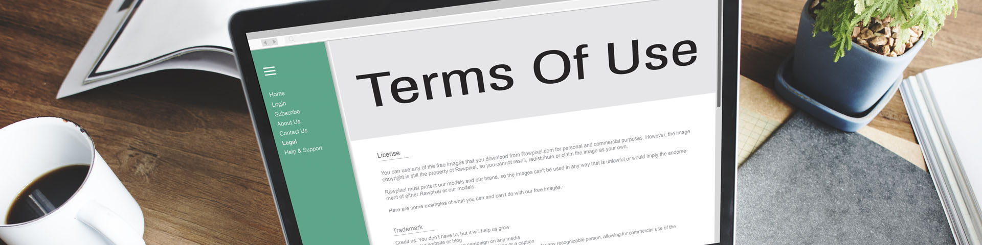Terms of Use - Thumb Bank